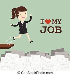 amore, lavoro