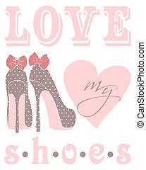 amore, mio, scarpe