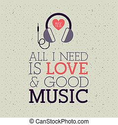 amore, musica