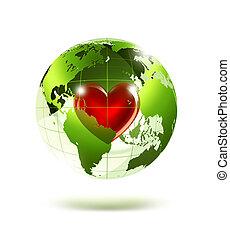 amore, pianeta