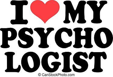 amore, psicologo, mio