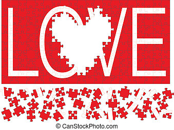 amore, puzzle, iii