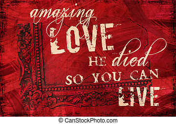 amore, strabiliante, religioso, fondo