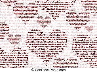 amore, struttura, testo