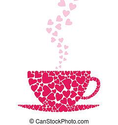 amore, tazza