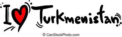 amore, turkmenistan
