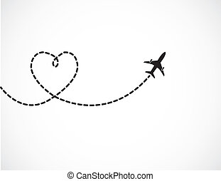 amore, viaggiare, concetto