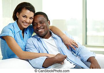 Amorous couple