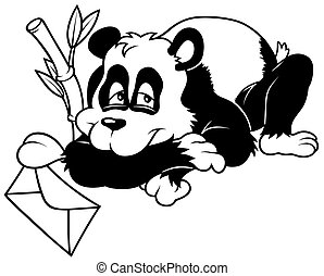 Amorous Panda