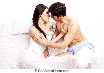 Amorous Young Couple