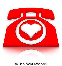 amour, appeler