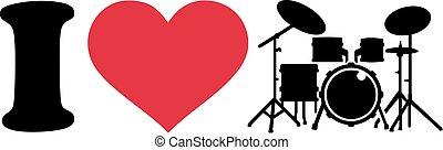 amour, battez tambour kit