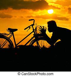amour, bike.