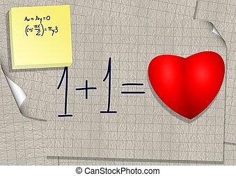 amour, calcul
