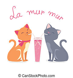 amour, chats