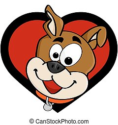 amour, chien