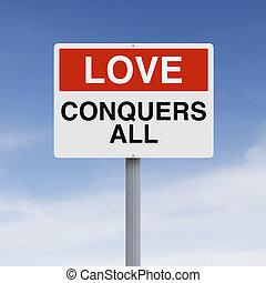 amour, conquers, tout