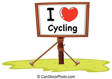 amour, cyclisme