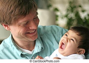 amour, de, a, père