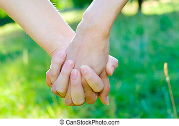 amour, et, amitié, concept