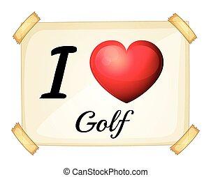 amour, golf
