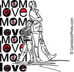 amour, maman
