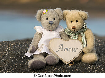 amour, ours, teddy