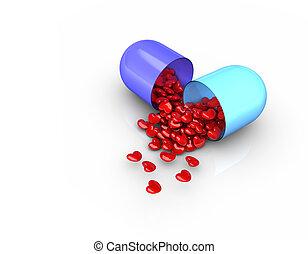 amour, pilules