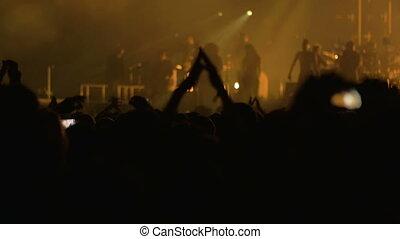 amour, sien, musique, ils