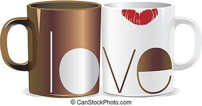 amour, tasse