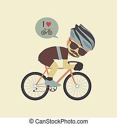 amour, vélo