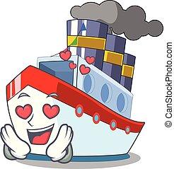 amour, voile, caractère, luxe, bateau, port