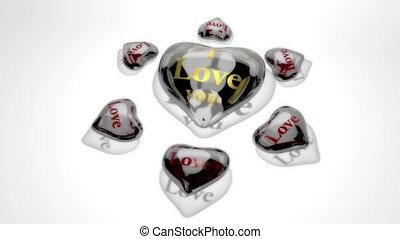 amour, vous, -, cœurs