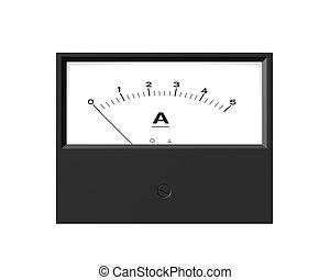 ampere meter - Illustration