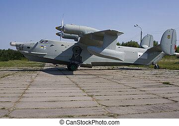 Amphibian plane