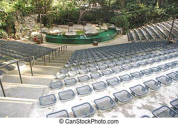 Amphibian theater