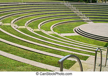 Amphitheater - An interestingly designed amphitheater with...