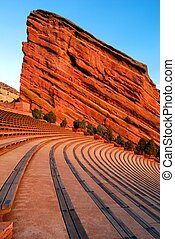 Amphitheater at Red Rocks Park - The amphitheater at Red...