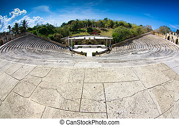 Amphitheater in Altos de Chavon