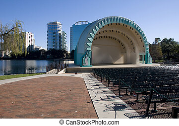 Amphitheater in Downtown Orlando