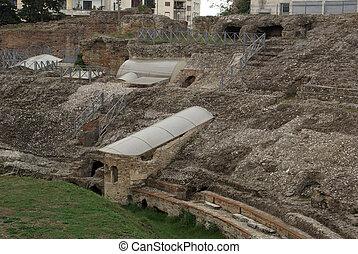 Amphitheater in Durres, Albania