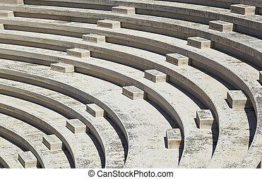 Amphitheater - Rows of amphitheater - entertainment...