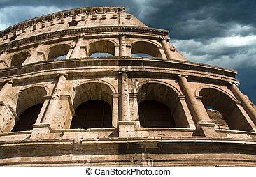 amphitheatre, 古代, colosseum, ローマ