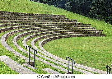 amphitheatre, 屋外