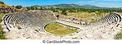 Amphitheatre at Aphrodisias in Turkey