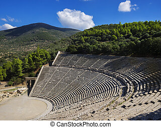 Amphitheatre of Epidaurus, Greece