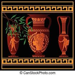 amphora, 古代, 水差し