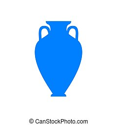 Amphora and background