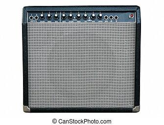 amplificador, guitarra