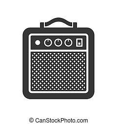 Amplifier Icon. Vector
